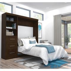 """84"""" Full Wall bed kit in Chocolate"""