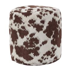 Brown Cow Udder Madness Pouf Ottoman