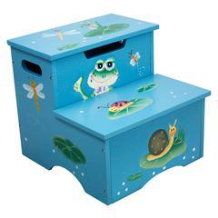 Froggy Step Stool w/ Storage