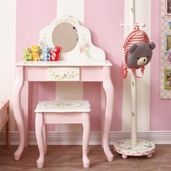 Bouquet Classic Vanity Table & Stool Set