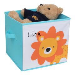KIDS SAFARI Lion Box, Blue
