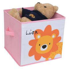 KIDS SAFARI Lion Box, Pink