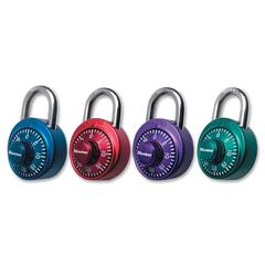 Master Lock X-treme Series Combination Padlock - 3 Digit - Master Keyed - Stainless Steel Body - Assorted