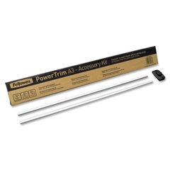"Fellowes PowerTrim Accessory Pack - 16.50"" Cutting Length - Stainless Steel - Multi"
