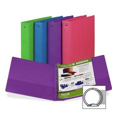 "Fashion Assorted Value Storage Binder - Letter - 8.50"" x 11"" - 2"" Capacity - 1 Each - Assorted"
