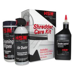 HSM Customer Care Cleaning Kit - Non-abrasive, Oil-free, Anti-static, Fast-drying, CFC-free, Wax-free, Dust/Dirt-free, Environmentally Friendly