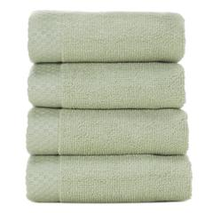 Rayon from Bamboo blend Resort Washcloth (4pk) in Sage
