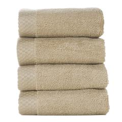 Rayon from Bamboo blend Resort Washcloth (4pk) in Champagne