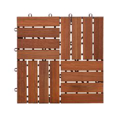 Navi Outdoor Floor Tile - 6pc Set