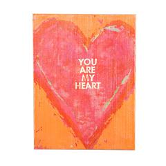 Holly & Martin Swoon Wall Panel  You Are My Heart