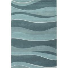 "Eternity 1053 Ocean Landscapes 2'3"" x 7'6"" Runner Size Area Rug"