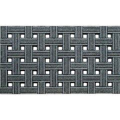 Cleanscrape Deluxe Weave Gray Mat