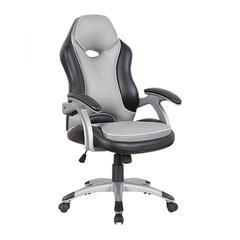 High Back Executive Sport Race Office Chair. Color: Black & Grey