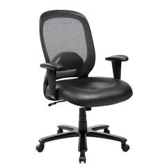 Techni Mobili Comfy Big and Tall Office Computer Chair