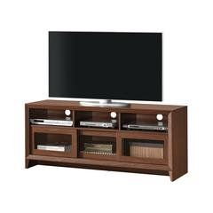 "Modern TV Stand with Storage For TVs Up To 65"" . Color: Hickory"