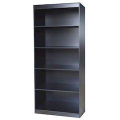 Black Home 5 Shelf Bookcase