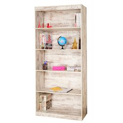 Wash Home 5 Shelf Bookcase