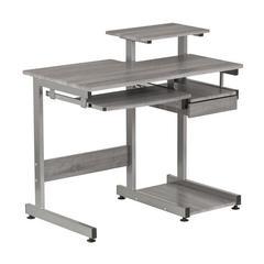 Complete Computer Workstation Desk, Gray