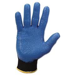 Jackson Safety* G40 Nitrile Coated Gloves, Large/Size 9, Blue, 12 Pairs