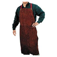 Anchor Brand 500 Leather Bib Apron, 24in x 42""