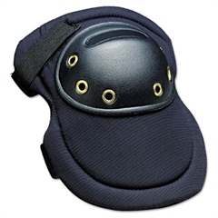"MaxKnee Knee Protection, Hook & Loop Closure, Nylon/Foam/ABS, Navy, 8""W x 11""L"