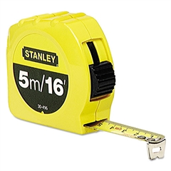 "Stanley Tools Tape Measure, 3/4"" x 16ft"