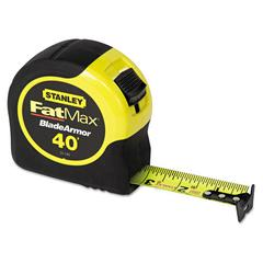 Stanley Tools FatMax Blade Armor Reinforced Tape Measure, 1 1/4in x 40ft