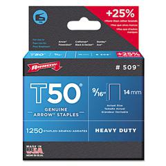 "Arrow T50 Type Staples, 9/16"", .050 Wire"