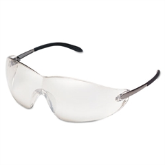 Blackjack Protective Eyewear, Chrome Lens, Indoor/Out, Safety Glass