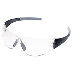 Crews CK2 Series Safety Glasses, Clear Lens, Anti-Fog