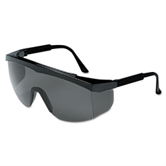 Stratos Spectacles, Black Frame, Gray Lens