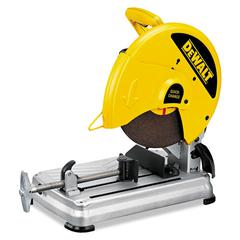 "DeWalt D28715 Quik-Change Chop Saw, 14"" Wheel, 5.5hp, 4, 000rpm, 15 Amp Motor"