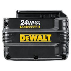 DeWalt Fan Cooled XR+ Battery Pack, 24V