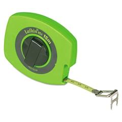 """Lufkin Hi-Viz Universal Lightweight Measuring Tapes, 3/8"""" x 100ft, Yellow Blade"""