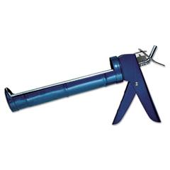 Half-Barrel Caulking Gun, Pistol-Grip, 12oz, Blue