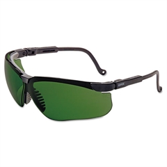 Genesis Shooting Glasses, Black Frame, 3.0 ID Tint Lens