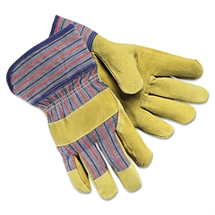 Memphis Grain-Leather-Palm Gloves, Large