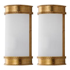 FLORENCE 12-INCH H GOLD WALL SCONCE