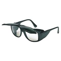 Uvex Horizon Flip-Up Safety Glasses, Black Frame, Clear/Shade 5.0 Lenses