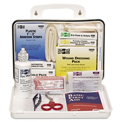 Pac-Kit ANSI Plus #25 Weatherproof First Aid Kit, 143 Pieces, Plastic Case