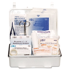 Pac-Kit Industrial #25 Weatherproof First Aid Kit, 159 Pieces, Plastic Case