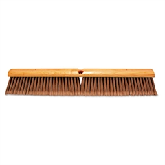 Magnolia Brush Floor Brush, w/M60 Handle, Flagged Plastic Fill, 24w x 60h