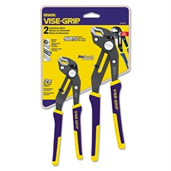"Two-Piece Groovelock Pliers Set, 8"" and 10"""