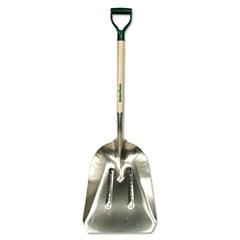 UnionTools Heavy-Duty Western Scoop Shovel, Aluminum