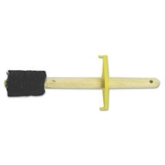 "Magnolia Brush Straight Dope Brush, 7"" Brush, 1-1/2"" Bristles, Wood/Horsehair/Aluminum"