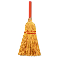 "Magnolia Brush Lobby/Maid's Cart Broom, Corn Fill, 24"" Wide"