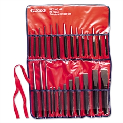 26-Piece Punch & Chisel Set