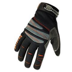 ProFlex 710 Mechanic's Gloves, Large, Black