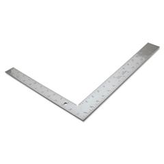 "Framing Square, 16"" x 1-3/4"" x 12"" x 1-1/4"", Steel, Carpenter"