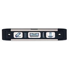 "em81 Series True Blue Torpedo Level, 9"" Long, Aluminum, Tri-Vial"